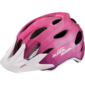 Alpina Carapax Flash Helmet Jugend pink-white